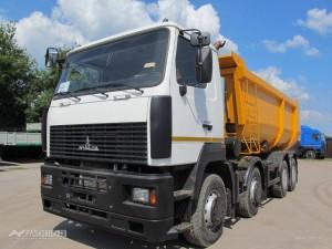 Доставка строительных материалов самосвалом МАЗ 25 м³