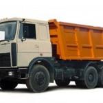 Аренда самосвала МАЗ-5516 объем кузова 18 М³