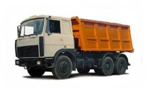 Доставка строительных материалов самосвалом МАЗ 18 м³