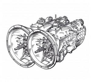 Ремонт КПП грузового автомобиля