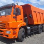 Аренда самосвала КАМАЗ-6520 20 м³