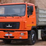Аренда самосвала МАЗ-5551 объем кузова 10 М³