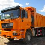 Доставка строительных материалов самосвалом SHACMAN 21м³