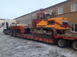 Аренда грузового прицепа для перевозки спецтехники